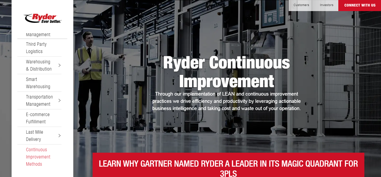 Ryder Supply Chain Solution Best Logistics Company