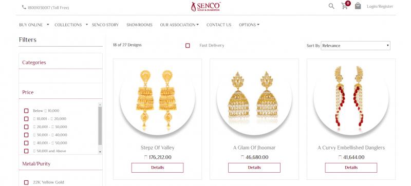 Senco Gold and Diamonds: Jewellery Brand In India