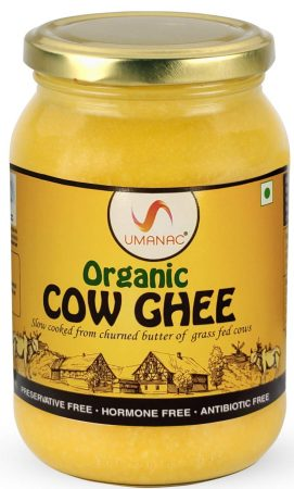 Umanac organic cow ghee Best Ghee Brand In India