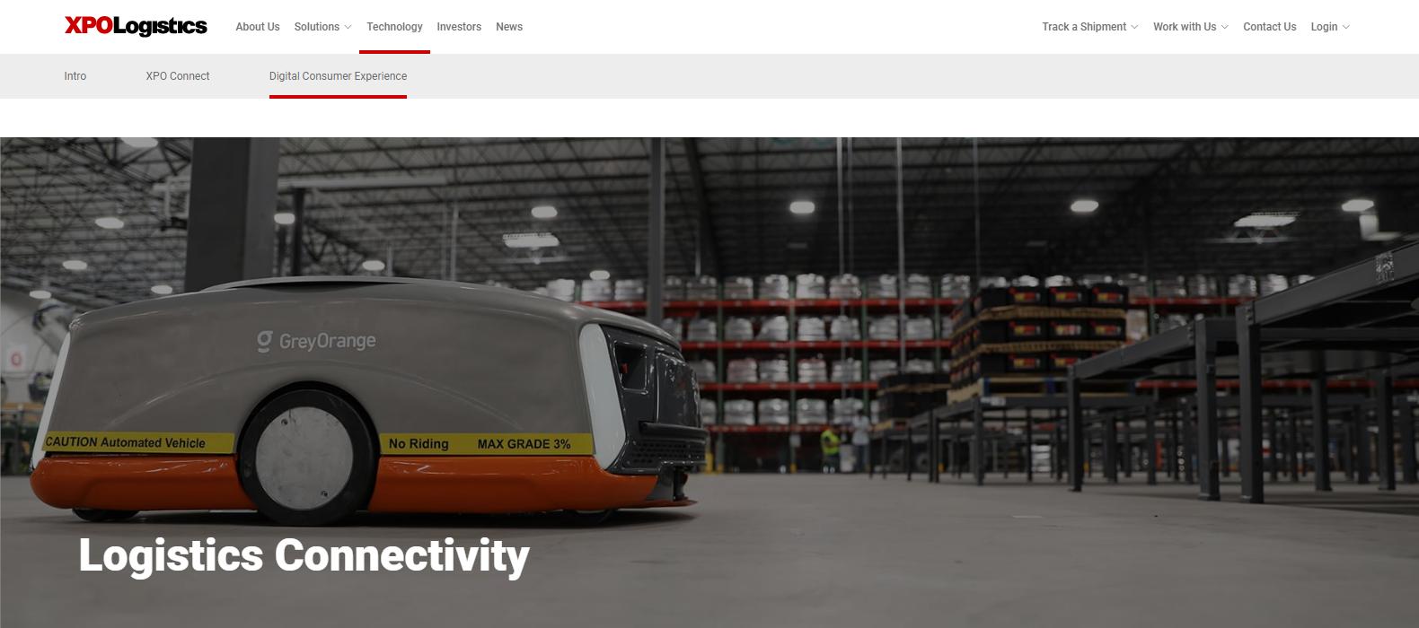 XPO Logistics Best Logistics Company