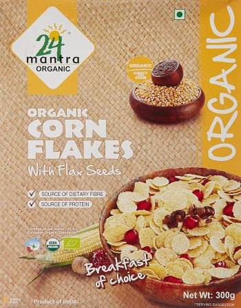 24 Mantra Organic Corn Flakes Best Corn Flakes Brand In India