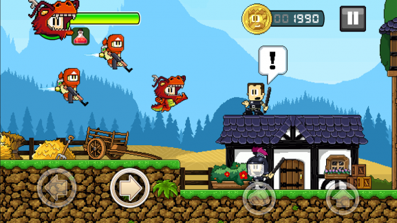 Dan The Man: Best Offline Game For Android