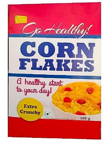 Go Healthy Corn Flakes Best Corn Flakes Brand In India