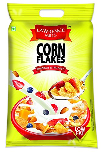Lawrence Mills Corn Flakes Best Corn Flakes Brand In India