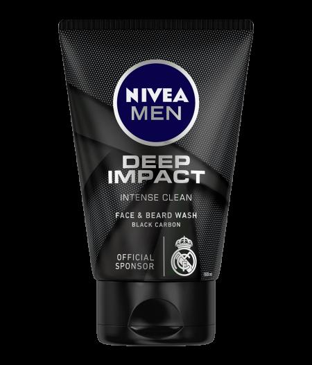 Nivea Men Deep Impact Face & Beard Wash: Best Face Wash In India