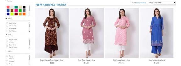 Rangriti: Online Site To Buy Kurtis