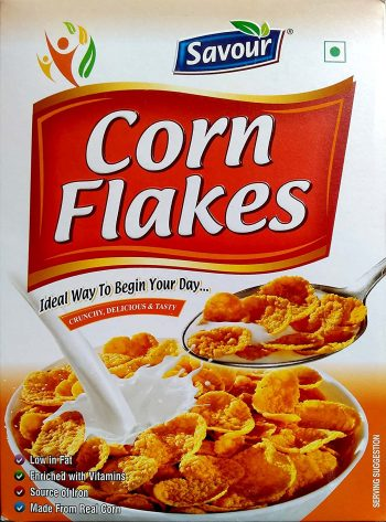 Savour Corn Flakes Best Corn Flakes Brand In India