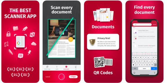 Scanbot Best Scanner Apps For Documents