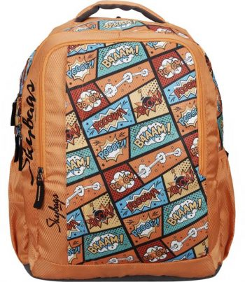Skybags Footloose Helix Plus 01 30 L Backpack: High Quality And Durable School Bag