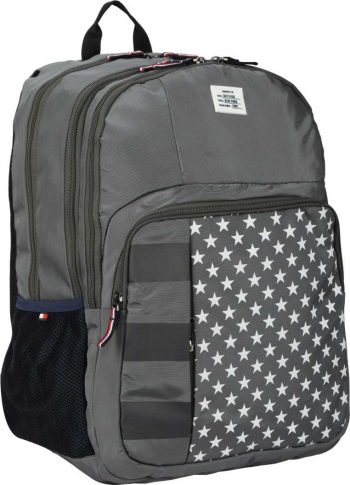 Tommy Hilfiger Mid L Backpack: High Quality And Durable School Bag