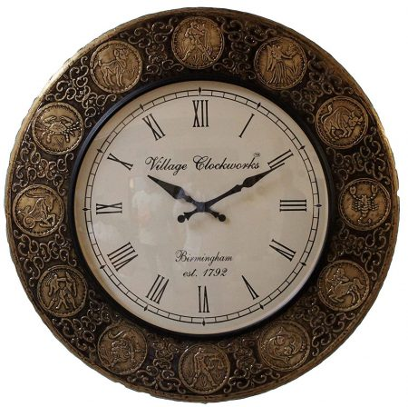 Village clockworks: Best Wall Clock In India