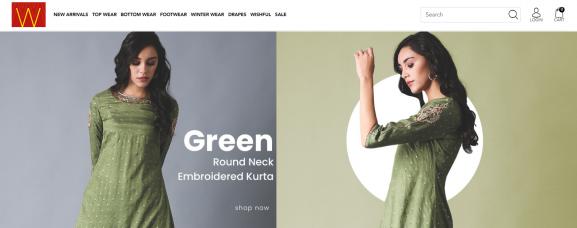 W: Online Site To Buy Kurtis