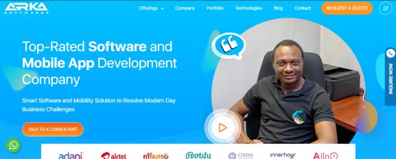 ARKA Softwares - App Development Company