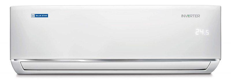 Blue Star 1 Ton 5 Star Inverter Split AC (Copper IC512DATU White): Best Air Conditioner To Buy Under 40,000