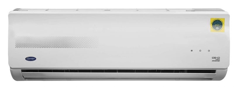 Carrier 1.5 Ton 3 Star Inverter Split AC (Copper CAI18EK3R39F0+CI183R3CC90 White): Best AC Under INR 35,000