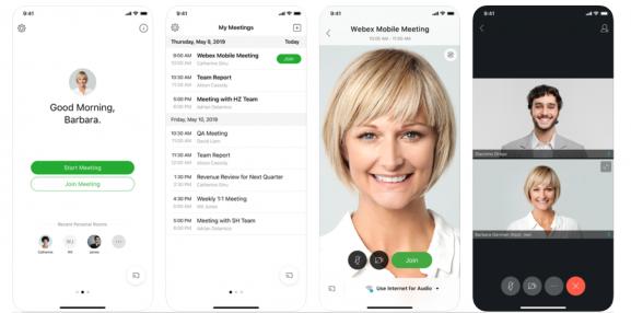 Cisco Webex - apps like zoom