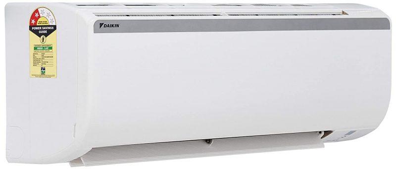 Daikin 1.5 Ton 2 Star Split AC (Copper FTQ50TV White): Best AC Under INR 35,000