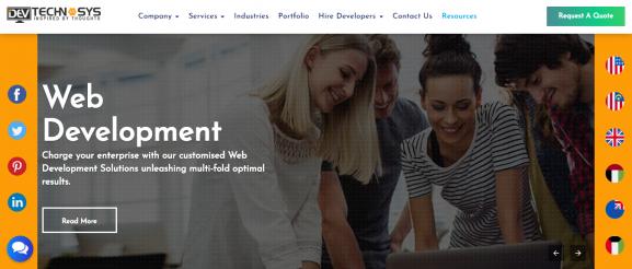 Dev Technosys - App Development Company