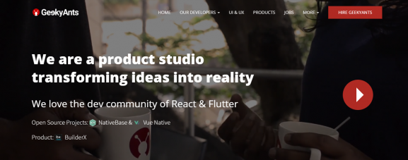 Geeky Ants. - App Development Company