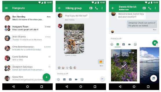 Hangouts - app like zoom