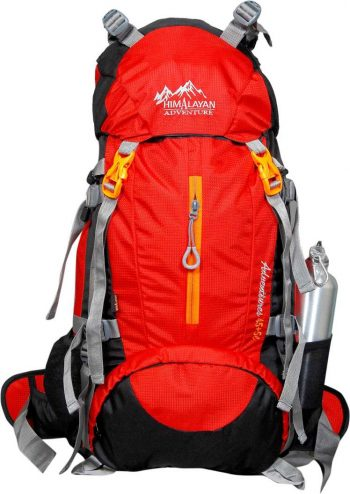 Himalayan Adventures Red Traveling Bag 50 L: Best Rucksack Bag