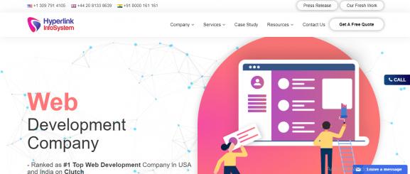 Hyperlink Infosystem-app devlopment company