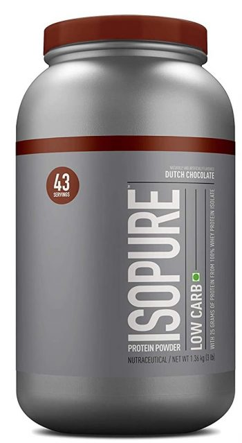 Isopure Low Carb 100% Whey Protein Isolate Powder: Best Protein
