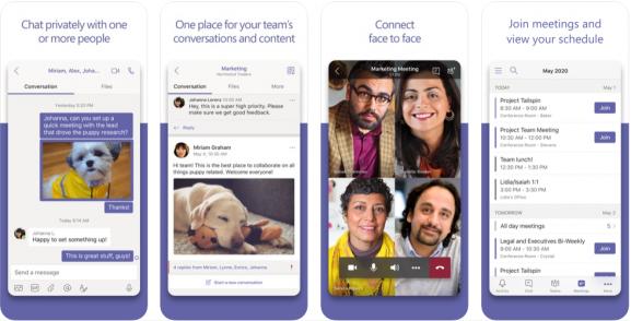 Microsoft Teams - app like zoom