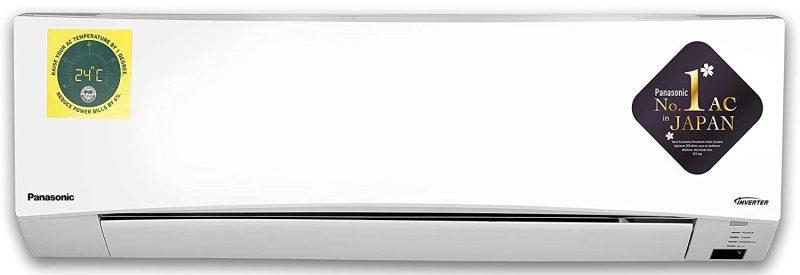 Panasonic 1 Ton 3 Star Wi-Fi Inverter Split AC (Copper CS CU-SU12W KW White): Best AC Under INR 35,000