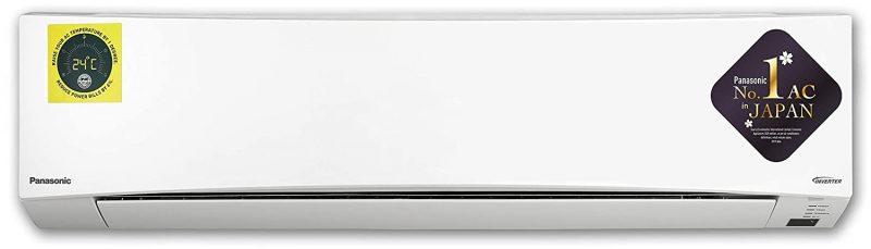 Panasonic 1.5 Ton 3 Star Wi-Fi Twin Cool Inverter Split AC (Copper CS/CU-SU18WKYW White): Best Air Conditioner To Buy Under 40,000