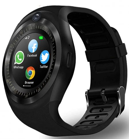 Time Up Round Dial Touchscreen Bluetooth Android iOS Compatible Multimedia Smartwatch for Men & Women-iPRO-SMARTWATCH-X: Best Smart Watch To Buy Under Rs 2000