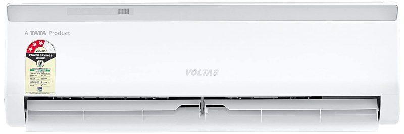 Voltas 1 Ton 3 Star Split AC (Copper 123 CZA White): Air Conditioner Under 30,000