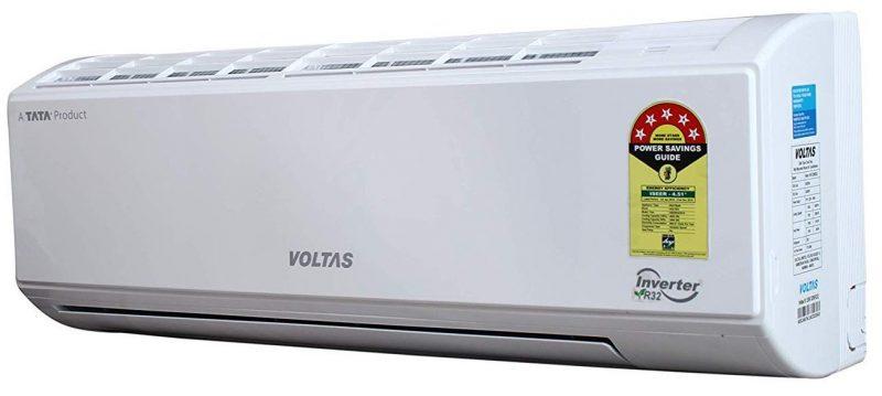 Voltas 1.2 Ton 5 Star Inverter Split AC (Copper 155V_DZW White): Best AC Under INR 35,000