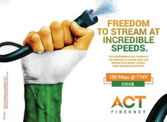ACT Fiber net Lucknow- best internet service provider in lucknow