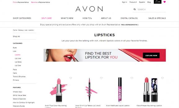 Avon water proof lipsticks