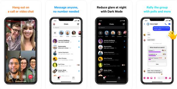 facebook messenger - app like zoom