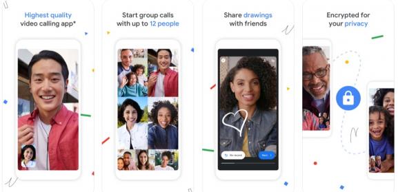 google duo - app like zoom
