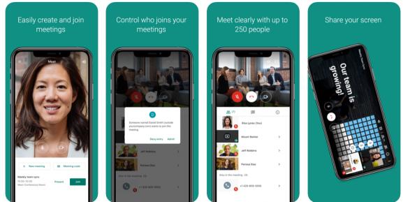 google meet - app like zoom