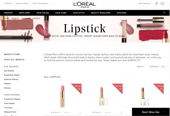 loral paris best lipstick