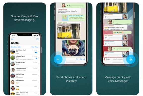 whatsapp messenger - app like zoom