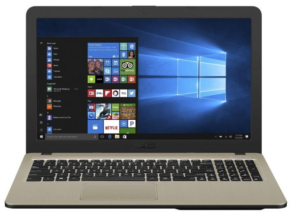 ASUS VivoBook AMD 2-Core A9 15.6-inch Laptop (4GB 1TB HDD Windows 10 Chocolate Black 2 Kg), X540BA-GQ120T: Best Laptop To Buy Under 20000 Rupees