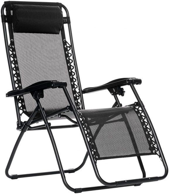 AmazonBasics Zero Gravity - best folding chair