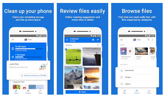Files Go: Alternatives To ShareIt