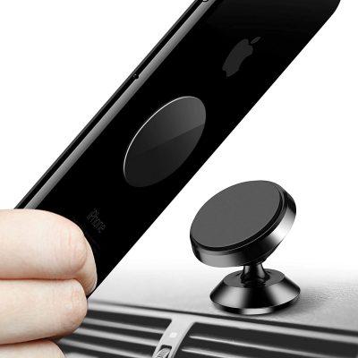 HIKER Portable 360 Degree Rotating Magnetic Mobile Holder