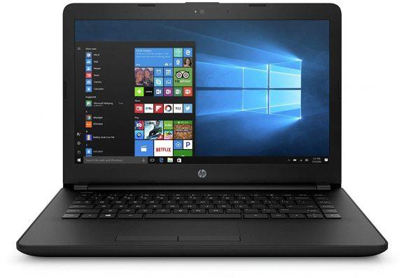 HP 14q-BU007TU 2017 14-inch Lightweight, Laptop (Celeron N3060 4GB 500GB Windows 10 Integrated Graphics), Jet Black: Best Laptop To Buy Under 20000 Rupees