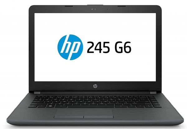 HP 245 6BF83PA 2018 14-inch Laptop (A6-9225 4GB 1TB DOS Integrated Graphics), Black: Best Laptop To Buy Under 20000 Rupees