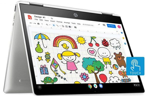 HP Chromebook x360 Intel Celeron N4000: Best Laptop to Buy Under 40000