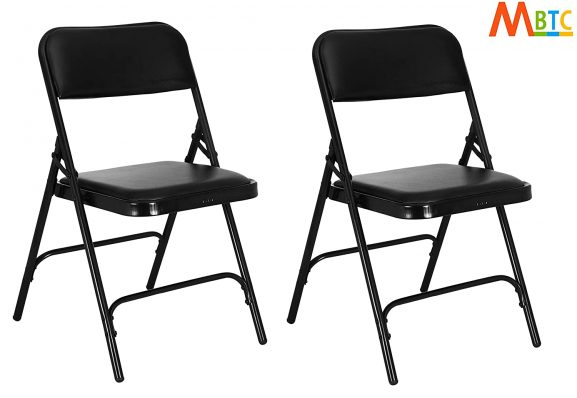 MBTC Clark Seat And Back Cushion Folding chair - best folding chair