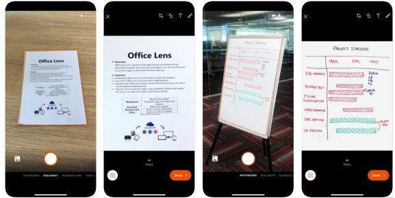 Microsoft Office Lens: Alternative to CamScanner
