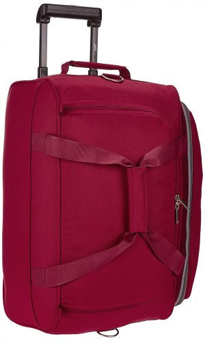 Skybags Cardiff Polyester 52 cms Red Travel Duffle (DFTCAR52RED): Best Suitcases, Trolley Bags And Luggage To buy In India